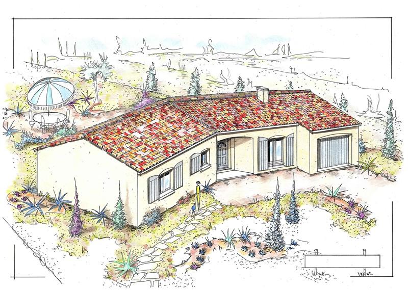 mpc maisons du pays charentais maisons maisons traditionnelles mimosa. Black Bedroom Furniture Sets. Home Design Ideas